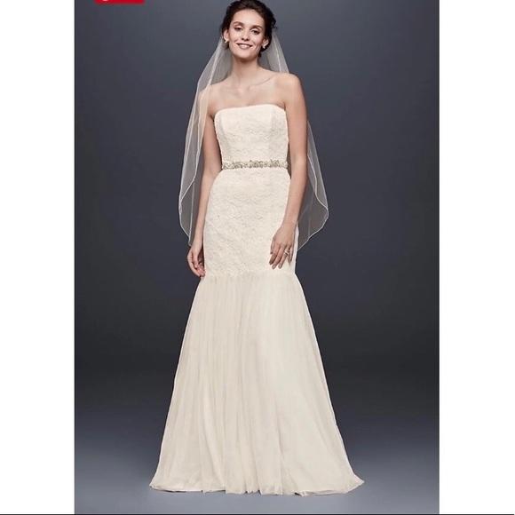 60a881d7242e2 Galina Dresses | Davids Bridal Wedding Gown Dress | Poshmark
